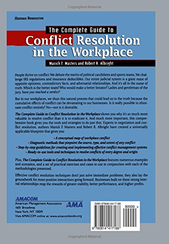 conflict at workplace examples