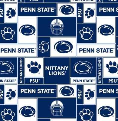 Penn State - 100% Polyester Fleece 60
