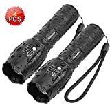 Best Waterproof Flashlights - Tactical Flashlight iCoostor T6 Handheld LED Torches Flashlight Review