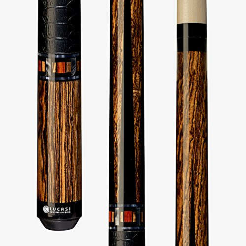 Lucasi Custom LZC26 Pool Cue Stick + 12.75mm Shaft + Uni-loc + Soft CASE