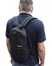 iGuerburn Oxygen Tank Backpack Portable Oxygen Cylinder Carrying Carrier Bag Medical O2 Tank Holder for Size M2, A/M4, ML6, B/M6, M7, C/M9 (Black)