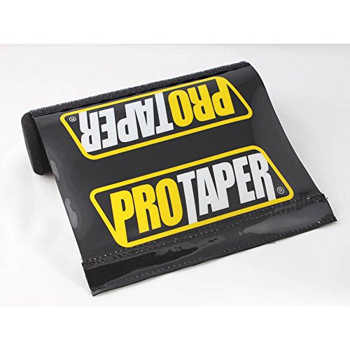 Short Black Pro Taper Soft Impact Absorbing Dense Foam Protector Accessories for Various Wheeled Vehicles w/ Crossbars (7.87in Length) by QQ Studio