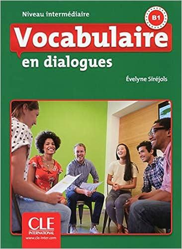 Amazon Com Vocabulaire En Dialogues Niveau Intermediaire
