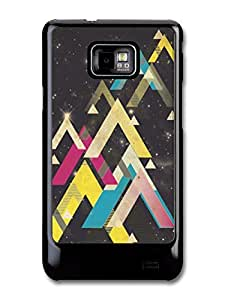 Cool Hipster Shapes in Space Sci-fi case for Samsung Galaxy S2 by runtopwell
