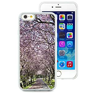 Fashionable Designed Cover Case For iPhone 6 4.7 Inch TPU With Pink Alley Nature Mobile Wallpaper (2) Phone Case