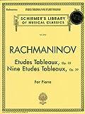 Etudes Tableaux, Op. 33 Nine Etudes Tableaux, Op. 39, , 0793545188
