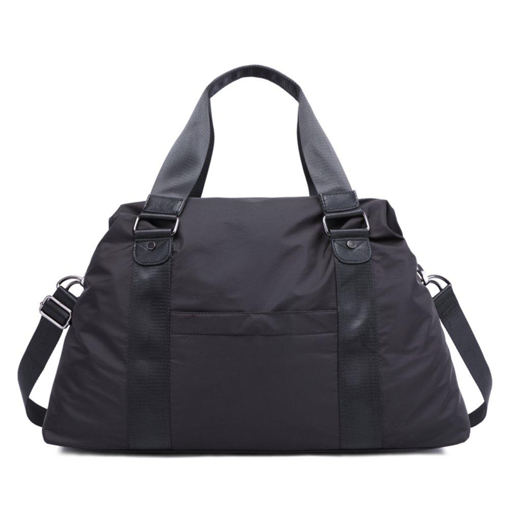 Waterproof nylon oxford cloth man single shoulder bag messenger bag business short travel bag-C