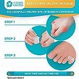 Toe Separators Hammer Toe Straightener - 4-Pack