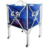 Cannon Sports CSI Carrito de Voleibol de Aluminio, Color Azul