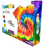 Tie Dye, Kit Camiseta Infantil G, euqfiz, i9 Brinquedos