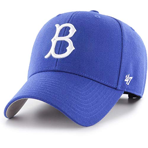 ('47 Authentic Brooklyn Dodgers Cooperstown Blue MLB Adjustable - MVP)