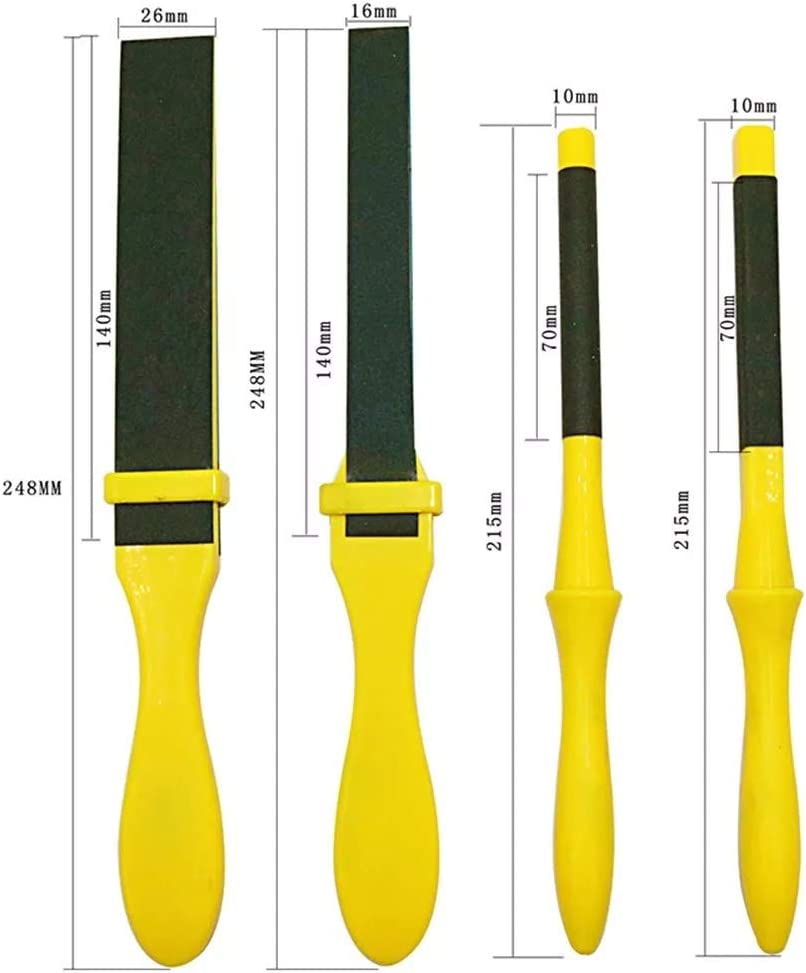 Bearing Tool Accessories Formative Unbent Edge Roll Stick Manual Sandpaper Clamp Sanding Stick
