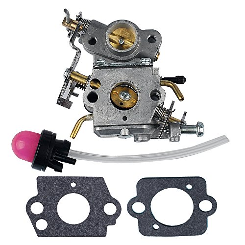 HIPA [Include Special Offers] Carburetor Assy with Primer Bulb for Poulan P3314 P3314WS P3314WSA P3416 P3516 P3516PR P4018WM P4018WT PP4218 PPB4018 Chainsaw # 545070601 545040701 ZAMA W-26 C1M-W26 by HIPA