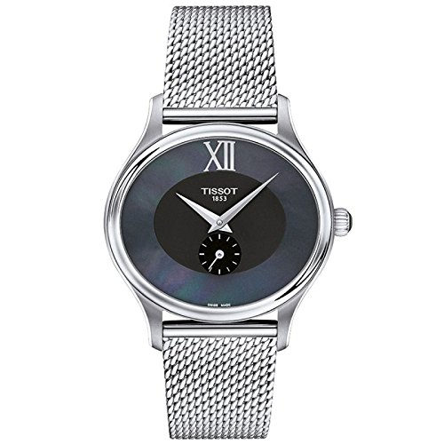 Tissot Stock Reloj Analógico para Mujer de Cuarzo con Correa en Acero Inoxidable T1033101112300