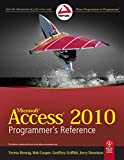 img - for Microsoft Access 2010 Programmer's Reference book / textbook / text book