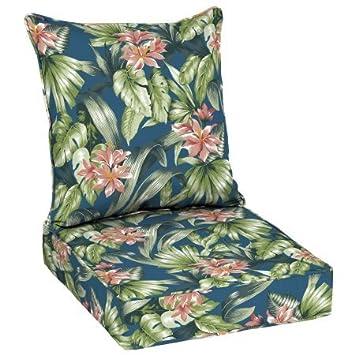 Better Homes and Garden Outdoor Patio Deep Seat Set Blue Green