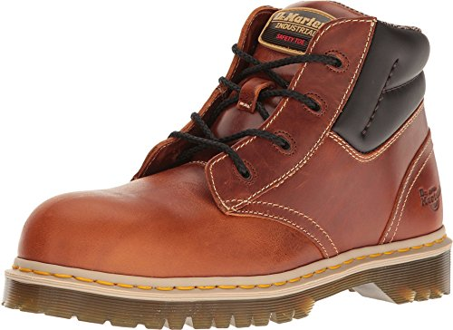 Dr. Martens Work Men's Icon 7B09 Tan Industrial Waxy Boot
