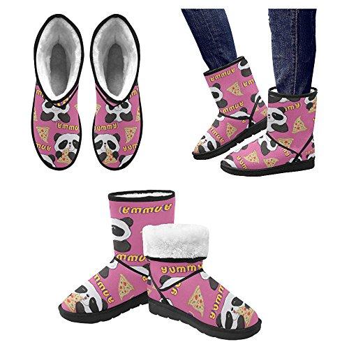 Botas De Nieve Para Mujeres Interestprint Botas De Invierno Con Diseño Único Comfort Multi 16