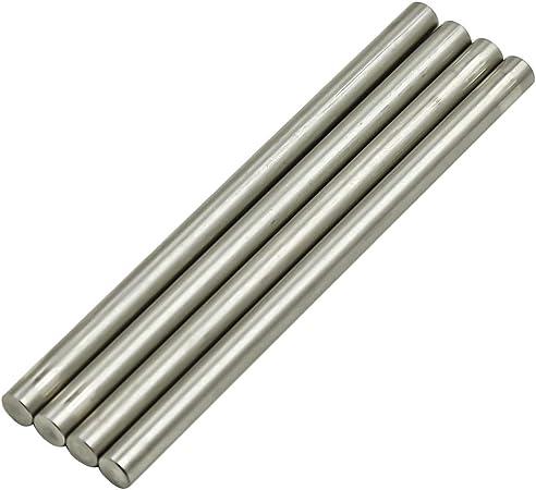 1.50 Hex Size x 1 Ft 2024-T351 Aluminum Round Rod 1 Pc. Length