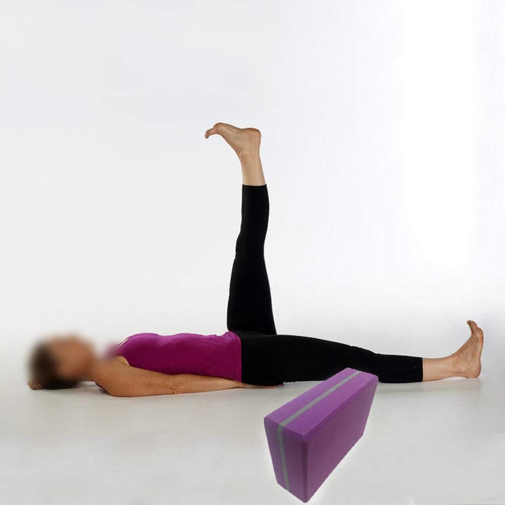 UICICI Fitness Yoga Brick EVA Purple High Density Dance ...