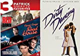 Patrick Swayze Favorites Dirty Dancing DVD & Red Dawn / Road House & Youngblood Movie 80's Set