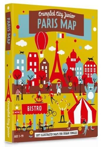 Palomar Spiegazzata City Junior - Mappa Parigi Junior, Multicolore