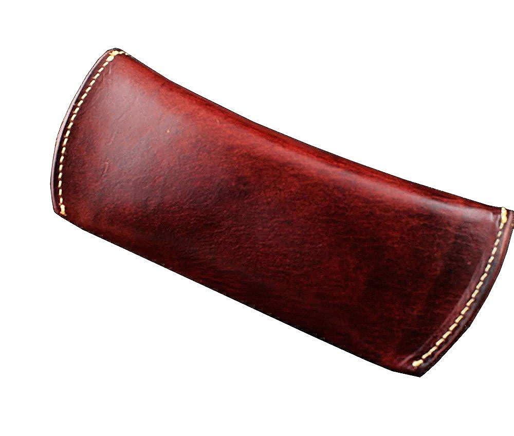 Wowens Fashion Genuine Leather Vintage Eyeglasser Case Sunglasser Box