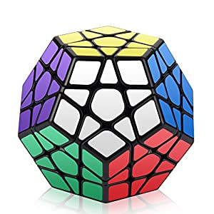 Megaminx Cube, Roxenda 3x3x3 Pentagonal Speed Cube Dodecahedron Magic Cube Puzzle Toy
