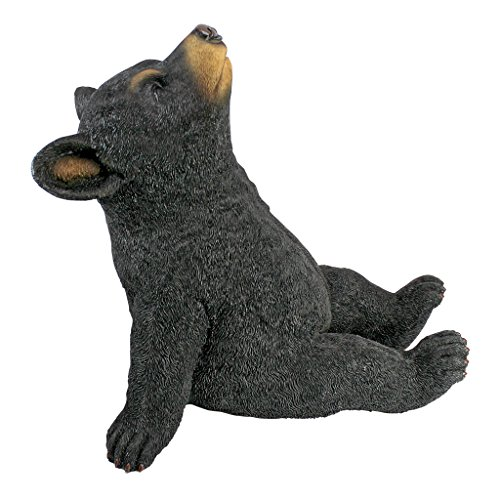 Design Toscano Catching Rays Bear Cub Statue by Design Toscano