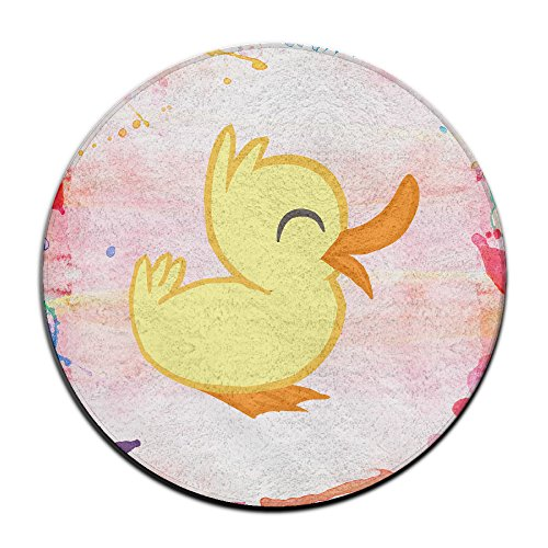 [ALIPAPA Home Furnishing Bathroom Duck NonSlip Mats White] (Donald Duck Costume Makeup)
