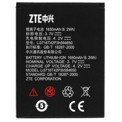 ZTE Battery Li3716T42P3h594650 Sequent Grand