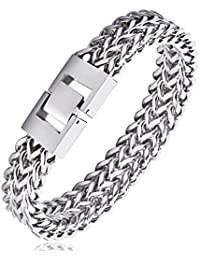 Stainless Steel 12MM Two-stand Waterproof Chain Clasp...