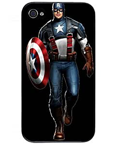 Landon S. Wentworth's Shop 8439250ZD463678033I4S High Quality Captain America iPhone 4/4s case