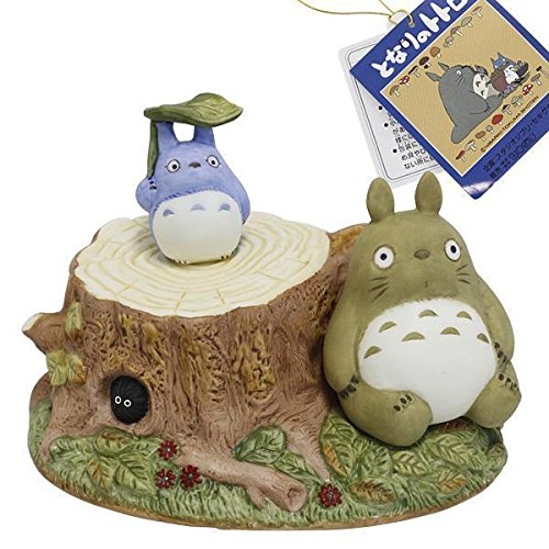 Studio Ghibli My Neighbor Totoro Ceramic Music Box (Scene / Wet) by Sekiguchi