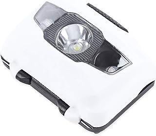 CDKJ Torcia 3 LED per la Bici Impermeabile con Lampo Bianco