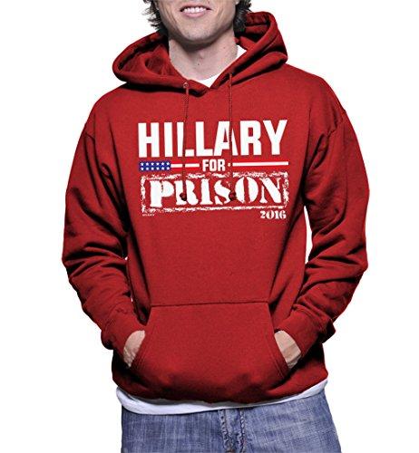 Mens Hillary Prison Hoodie Sweatshirt