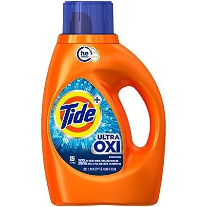 Amazon Com Tide Ultra Oxi Liquid Detergent 29 Loads 46 Fl Oz