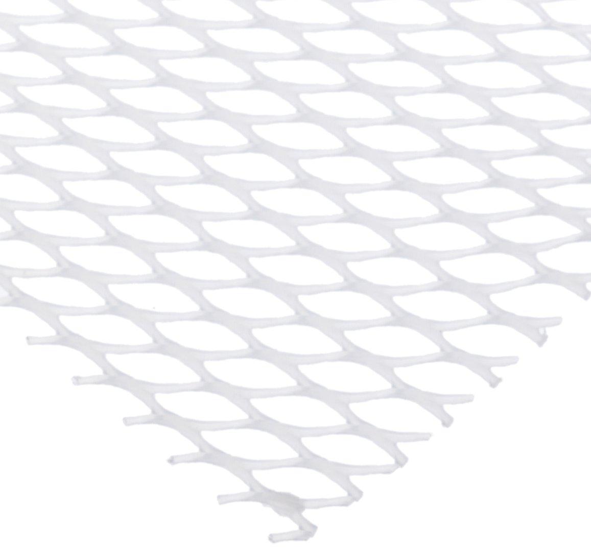 San Jamar PL0403 Poly-Liner Glossy Finish Soft Shelf Liner, 40' Length x 2' Width, Clear