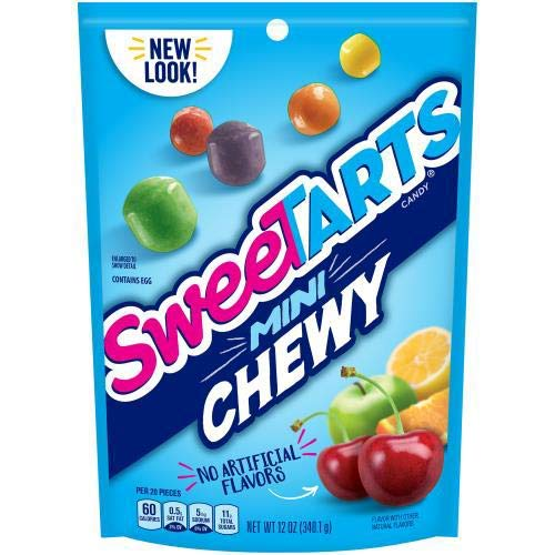 Sweetarts, Mini Chewy Tangy Candy (Pack of 14)