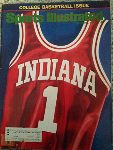 SPORTS ILLUSTRATED DEC 3, 1979 COLLEGE BASKETBALL ISSUE INDIANA (1979 College Basketball)