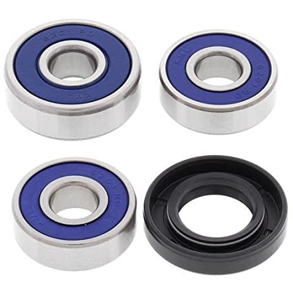Amazoncom Rear Wheel Bearing Seal Kit 2003 04 05 06 Kawasaki