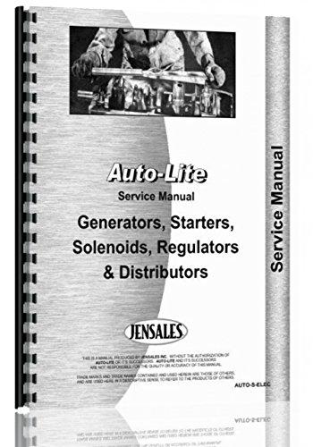 Comb Elec (Auto-Lite all Distributors, Generators, Starters, Regulators Service Manual)