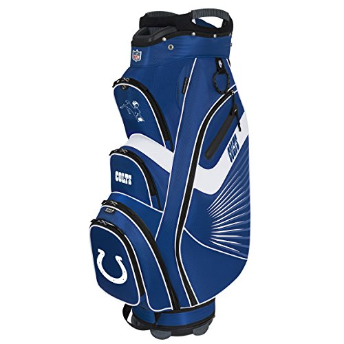 Indianapolis Colts Golf Cart Bag (NFL Indianapolis Colts The Bucket II Cooler Cart Bag)