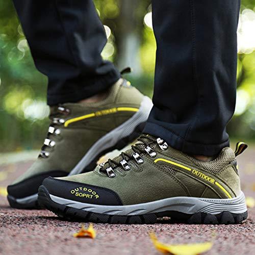 Sneaker Libre Aire Green Antideslizantes Leisure De Corrientes Tamaño Gran Adventure Camping Male Al Senderismo Zapatos Walking Travel Ligeros x4pBqwAaTT