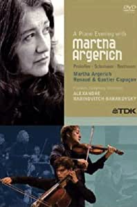 A Piano Evening with Martha Argerich [DVD Video]