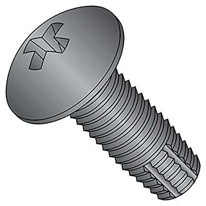 Phillips Drive Steel Thread Cutting Screw Type F Pack of 100 Pack of 100 5//8 Length Pan Head Small Parts 1010FPP #10-24 Thread Size Zinc Plated Finish 5//8 Length