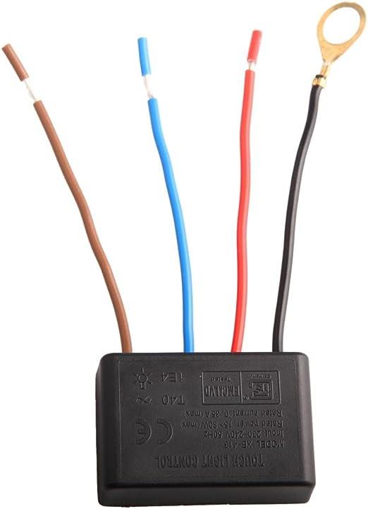 1 Dateien 220V Touch Dimmer Lampenschalter für Glühlampe Licht Tischlampe
