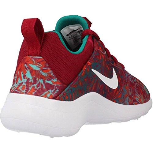 Nike Mädchen Wmns Kaishi 2.0 Print Laufschuhe Weiß-Rot-Grün