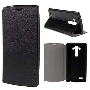 Funda para LG G4, colores negro con tapa folio PIPILU articulado función Stand