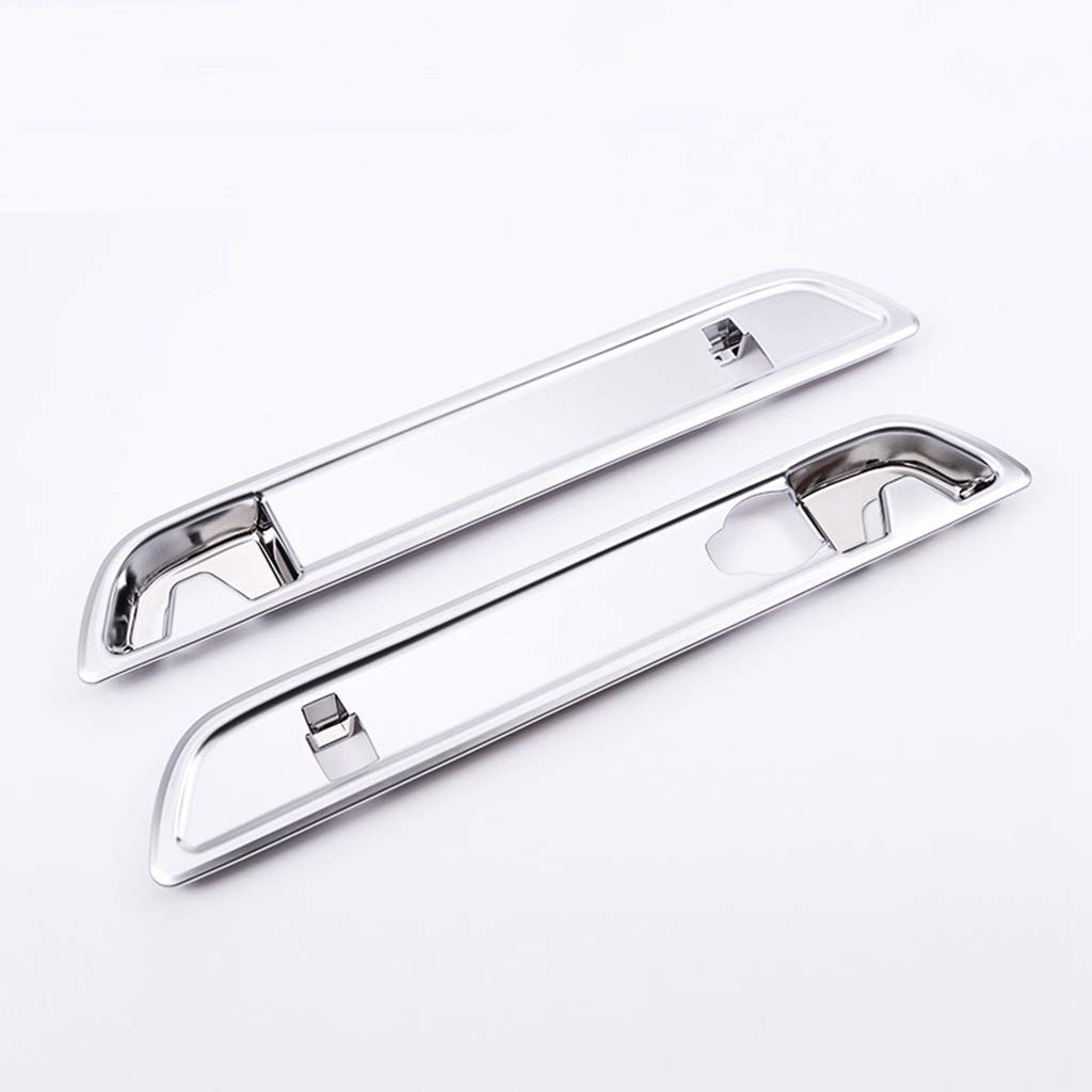 AUTO Pro for Mercedes Benz GLC Class X253 200 260 300 2015-2017?ABS Chrome Plastic Trunk Hook Decorative Cover Trim 3D Stickers Silver